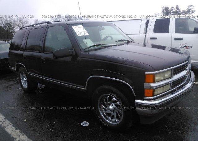 Inventory #595689776 1997 Chevrolet TAHOE
