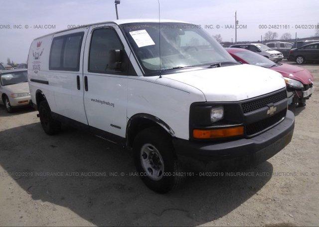 Inventory #545774389 2006 Chevrolet EXPRESS G3500