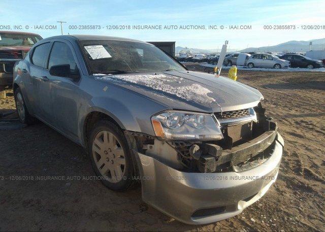 Inventory #272726889 2014 Dodge AVENGER
