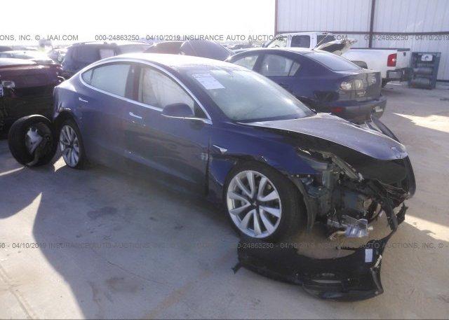 Inventory #520549786 2018 Tesla MODEL 3