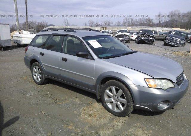 Inventory #687097229 2007 Subaru LEGACY