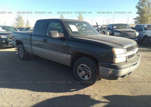 Inventory #588436101 2003 Chevrolet SILVERADO