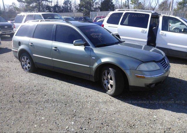 Inventory #170065222 2003 Volkswagen PASSAT