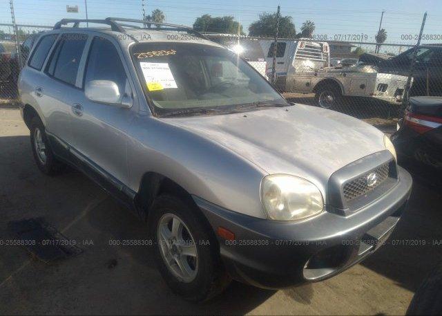 Inventory #668718102 2003 Hyundai SANTA FE