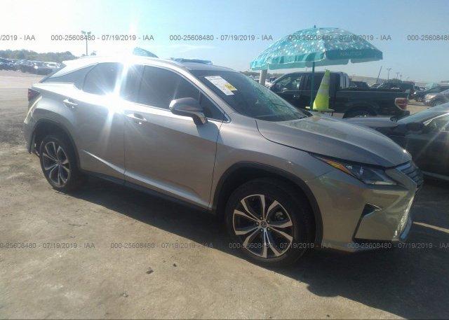 Inventory #590493683 2018 Lexus RX