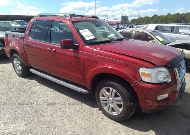 Inventory #556552081 2010 FORD EXPLORER SPORT TR