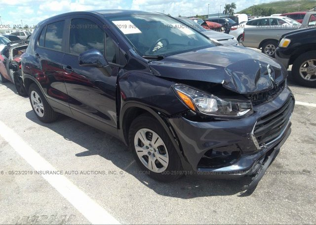 Inventory #643689268 2019 CHEVROLET TRAX