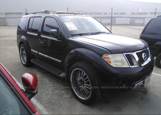 5n1ar18u98c609858 Clear Black Nissan Pathfinder At Columbia Sc On