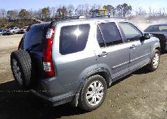 2005 Honda CR-V - JHLRD78975C008838 rear view