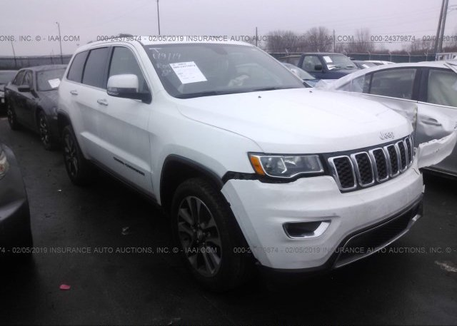 1c4rjfbg5jc106879 Salvage White Jeep Grand Cherokee At Vermilion