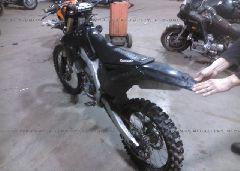 2010 Kawasaki KX250 - JKAKXMXC8AA000152 Right View