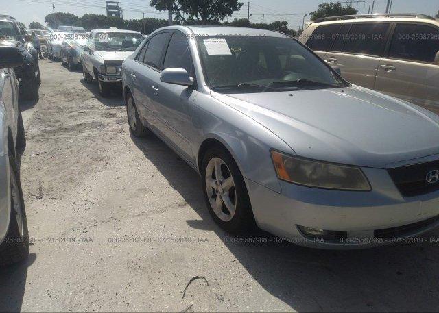 Inventory #914414253 2007 Hyundai SONATA