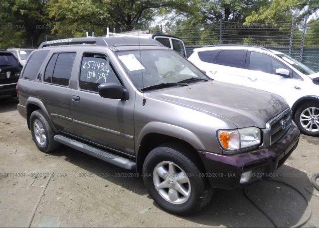 Inventory #548900467 2002 Nissan PATHFINDER