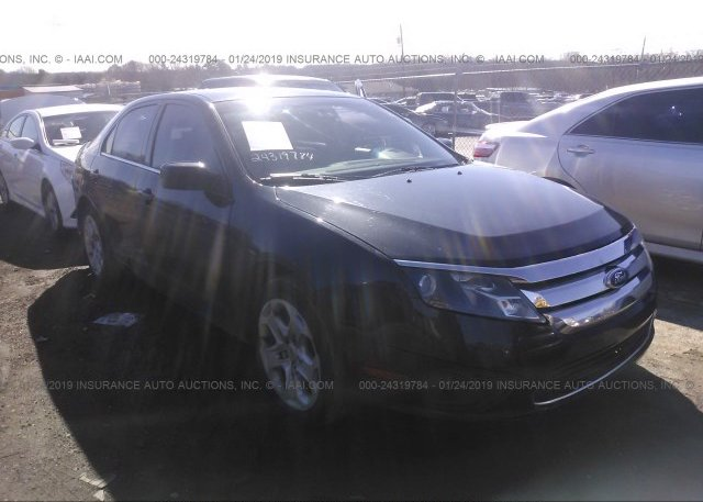Inventory #382004016 2011 FORD FUSION