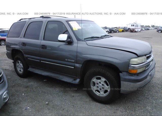Inventory #751830709 2001 Chevrolet TAHOE