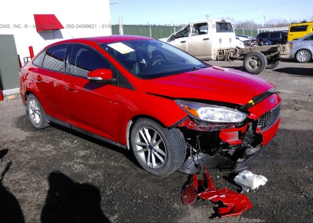 Inventory #887617736 2016 FORD FOCUS