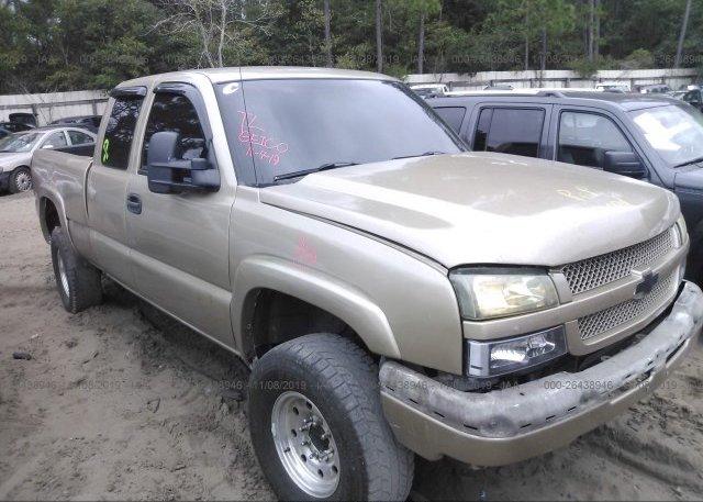 Inventory #941503653 2004 Chevrolet SILVERADO