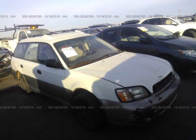 Inventory #163695838 2001 Subaru LEGACY