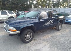 2004 Dodge DAKOTA - 1D7HG42N64S696328 Right View