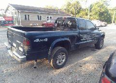 2004 Dodge DAKOTA - 1D7HG42N64S696328 rear view