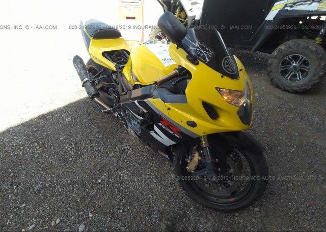 Inventory #530965661 2004 Suzuki GSX-R750