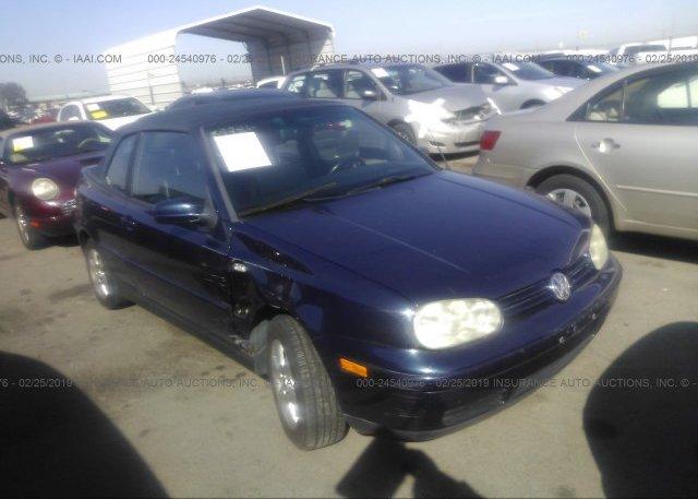 Inventory #940234488 2001 Volkswagen CABRIO