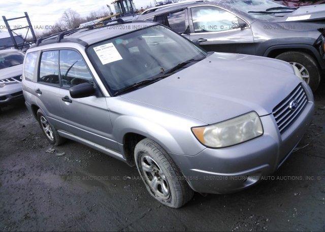 Inventory #388348122 2006 Subaru FORESTER