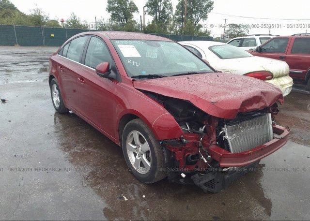 Inventory #357352203 2014 Chevrolet CRUZE