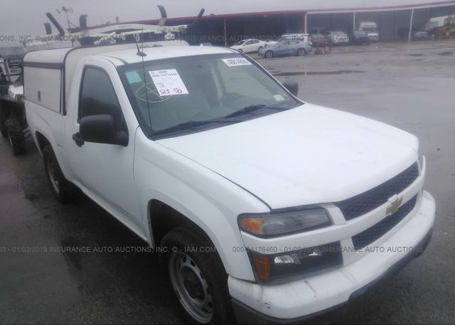 Inventory #932120703 2012 CHEVROLET COLORADO