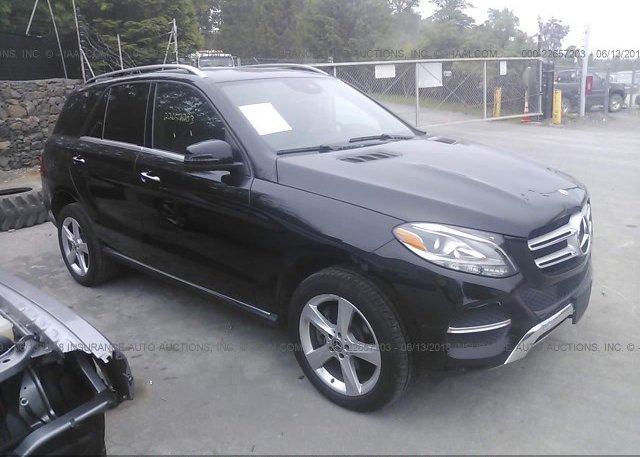 Inventory #835501858 2017 Mercedes-Benz GLE