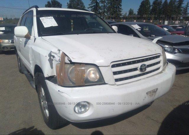 Inventory #182987005 2003 Toyota HIGHLANDER