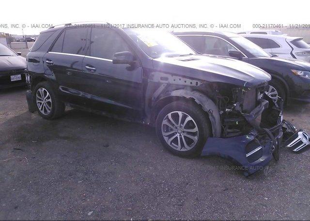 Inventory #865774246 2016 Mercedes-benz GLE
