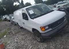 2007 FORD ECONOLINE - 1FTNE14W17DA28257 Left View