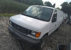2007 FORD ECONOLINE - 1FTNE14W17DA28257 Right View