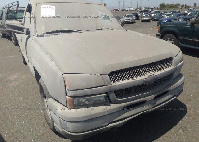 Inventory #666118827 2003 Chevrolet SILVERADO