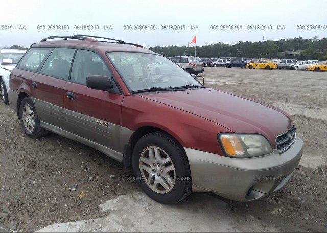 Inventory #729178072 2003 Subaru LEGACY