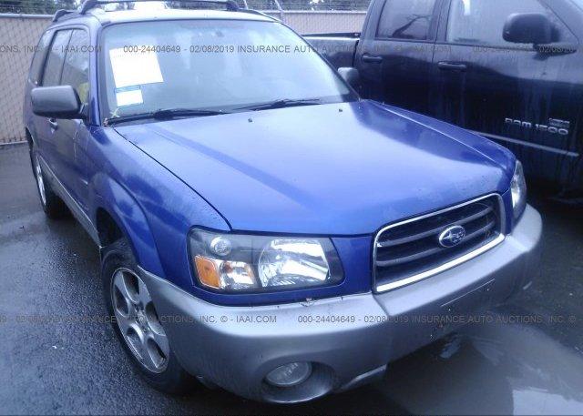 Inventory #805474715 2003 Subaru FORESTER