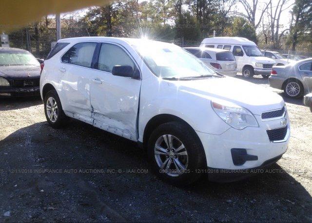 Inventory #743433478 2012 Chevrolet EQUINOX