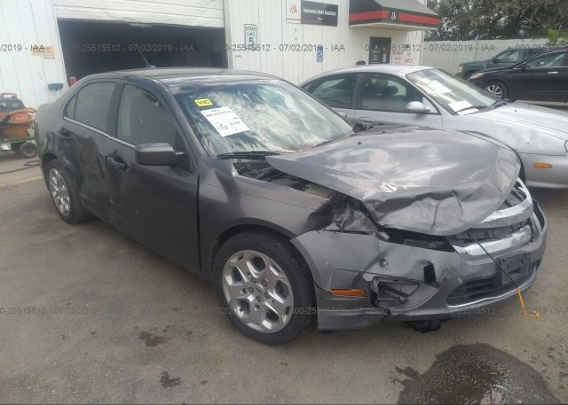 Inventory #107681610 2010 FORD FUSION