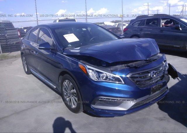 Inventory #115100841 2017 Hyundai SONATA