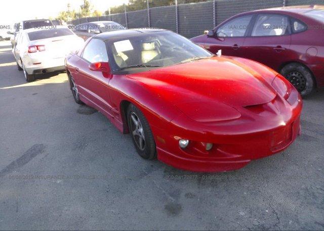 Inventory #575791512 2002 Pontiac FIREBIRD