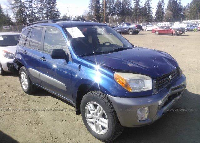 Inventory #771262140 2003 Toyota RAV4