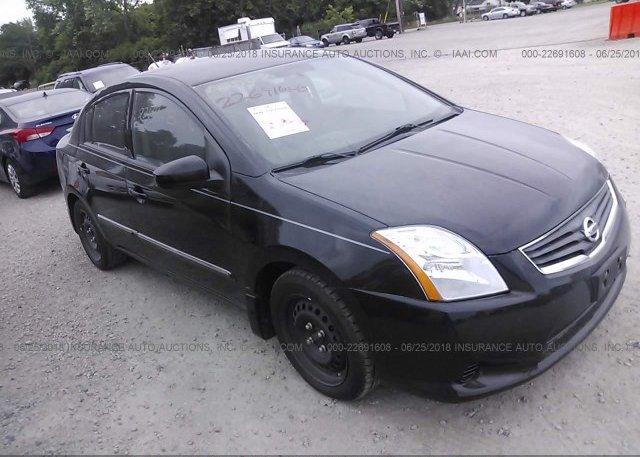 3n1ab6ap4bl727986 Salvage Black Nissan Sentra At Dayton Oh On