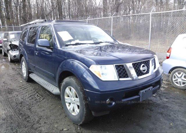 Inventory #928134390 2006 Nissan PATHFINDER