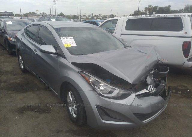 Inventory #685218687 2015 Hyundai ELANTRA