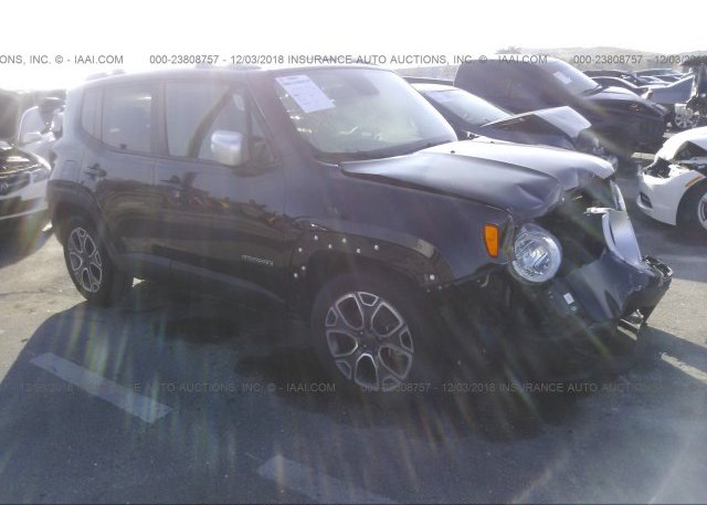 Inventory #329349995 2017 JEEP RENEGADE