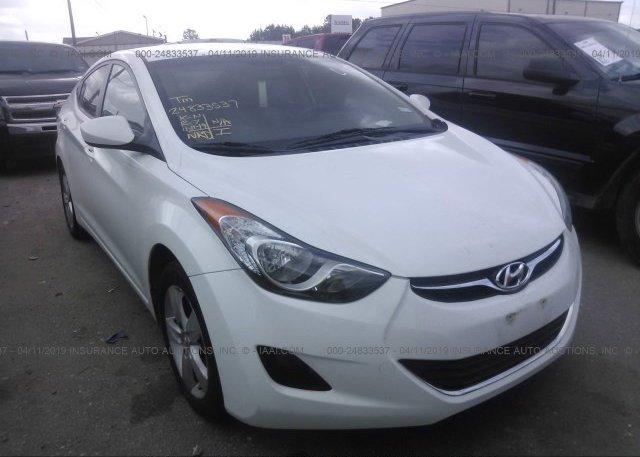 Inventory #876608357 2011 Hyundai ELANTRA