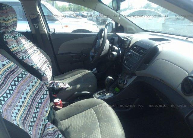 пригнать из сша 2013 Chevrolet SONIC 1G1JA5SH1D4236357