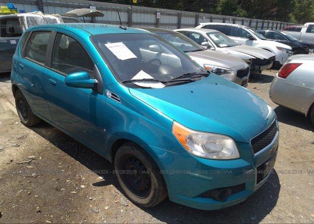 Inventory #488524623 2009 Chevrolet AVEO