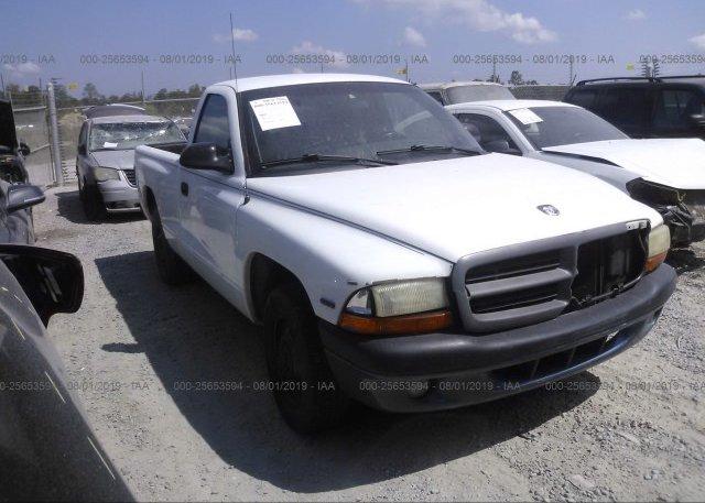 Inventory #904360480 1998 Dodge DAKOTA